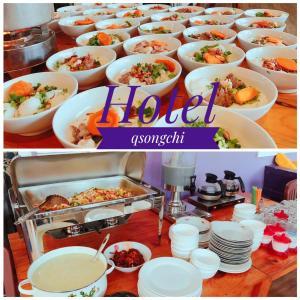 Các lựa chọn bữa sáng cho khách tại Q Songchi Hotel