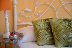 Cama o camas de una habitación en Hostal La Fonda