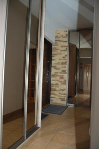 Koupelna v ubytování Apartament Bemowo Przestrzeń