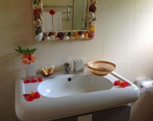 Ванная комната в Seashell Self Catering