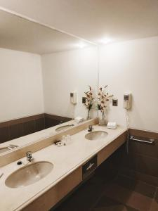 Un baño de Hotel Alborada