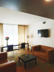 Zona de estar de Hotel Alborada