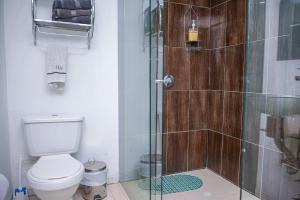 A bathroom at Apartment Carrera 301