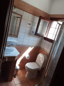 A bathroom at Guesthouse Iris