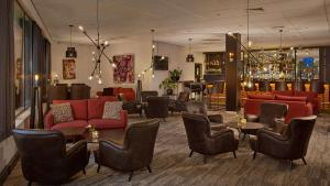 The lounge or bar area at Park Plaza Eindhoven