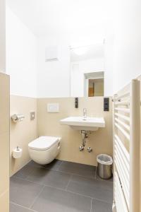 A bathroom at mk hotel frankfurt