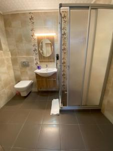 A bathroom at Aslan Home Apart