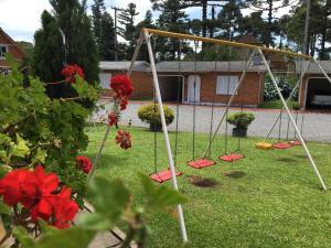 Children's play area at Hotel Galo Vermelho