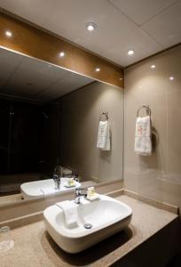Un baño de Hotel Mitru - La Paz