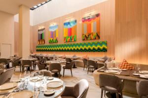 A restaurant or other place to eat at Radisson Blu Hotel Casablanca City Center