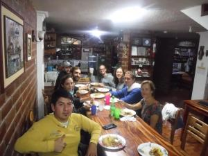 A restaurant or other place to eat at Hostal D´Mathias