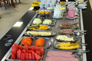 Breakfast options available to guests at Sky Palace Hotel