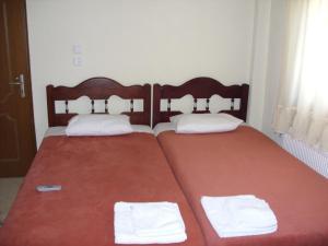 Ένα ή περισσότερα κρεβάτια σε δωμάτιο στο Frida