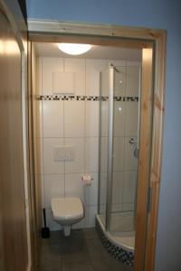 A bathroom at Haus Brunnenkunst