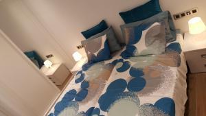 Ein Bett oder Betten in einem Zimmer der Unterkunft Pinien Platz