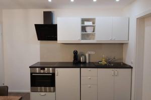 Küche/Küchenzeile in der Unterkunft Mülln Apartment