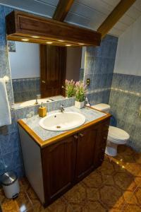 A bathroom at Hostal Muller