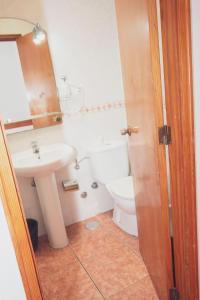 Koupelna v ubytování Montecarlo Apartamento40