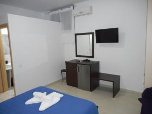 A television and/or entertainment center at Anatoli