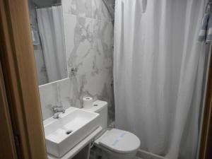 A bathroom at Anatoli