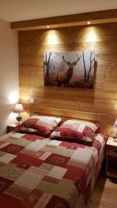 Un ou plusieurs lits dans un hébergement de l'établissement Les Logis de Meribel