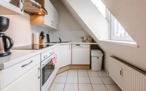 Küche/Küchenzeile in der Unterkunft Central Apartments Vienna - CAV
