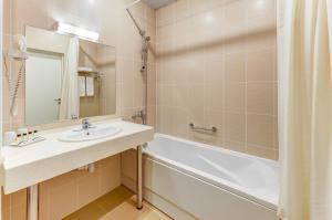 Ванная комната в Отель Аквариум