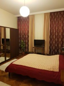 Postel nebo postele na pokoji v ubytování Apartments Vienna
