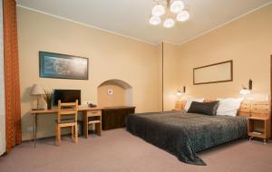 Lova arba lovos apgyvendinimo įstaigoje Angel Town Hall Apartments
