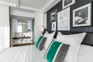 Cama o camas de una habitación en Barceló Imagine