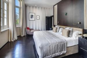 Säng eller sängar i ett rum på Baglioni Hotel London - The Leading Hotels of the World