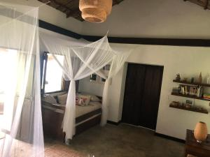 A bed or beds in a room at Reserva Natural Tierra Adentro