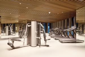 The fitness center and/or fitness facilities at Sonder — JBR Suites