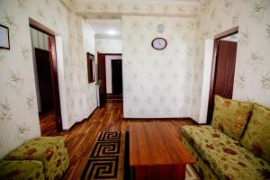 A seating area at Hotel Osh-Nuru