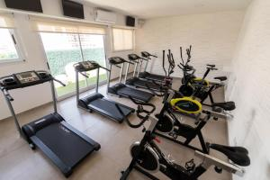 The fitness center and/or fitness facilities at Ker San Telmo Hotel