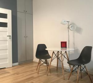Część wypoczynkowa w obiekcie Down Town Apartments Arianska 6A