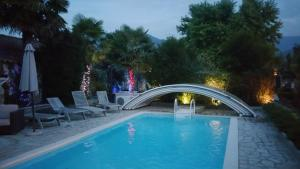 The swimming pool at or near La Maison d'Euterpe