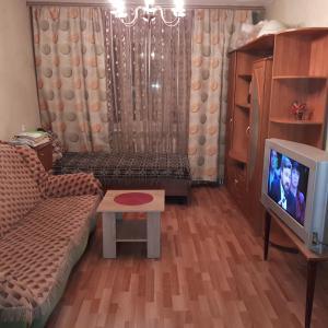 Гостиная зона в Apartment na Smirnova