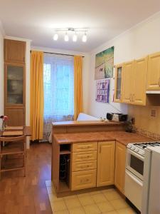Kuchnia lub aneks kuchenny w obiekcie Emilka Apartment