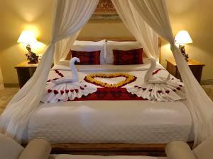 Cama o camas de una habitación en Kailash Bali