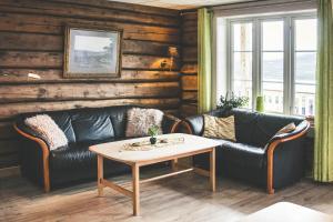 Et sittehjørne på Hjerkinn Fjellstue