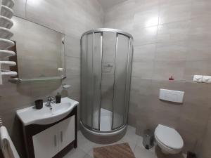 Łazienka w obiekcie Apartmány MODOM