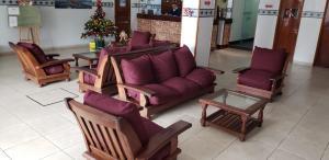 Un lugar para sentarse en Hotel APM Punta Mogotes
