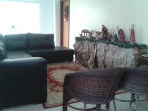A seating area at Rillos Hotel