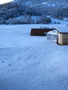 L'établissement Le Relais de la Forge en hiver