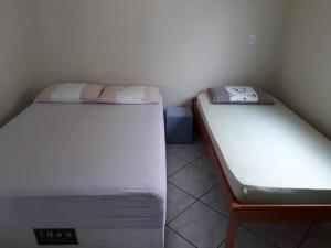 Cama ou camas em um quarto em Holiday Home Morrinhos