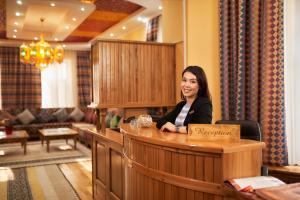 Navat Hotelのロビーまたはフロント