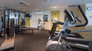 The fitness center and/or fitness facilities at Fiori Apartments