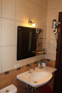 Ванная комната в В центре Сочи