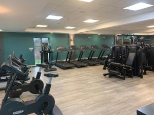 The fitness center and/or fitness facilities at De Vere Cotswold Water Park